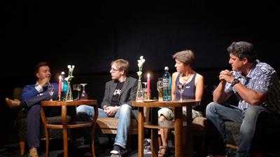 Podiumsdiskussion zum Thema Drogen in Erfurt